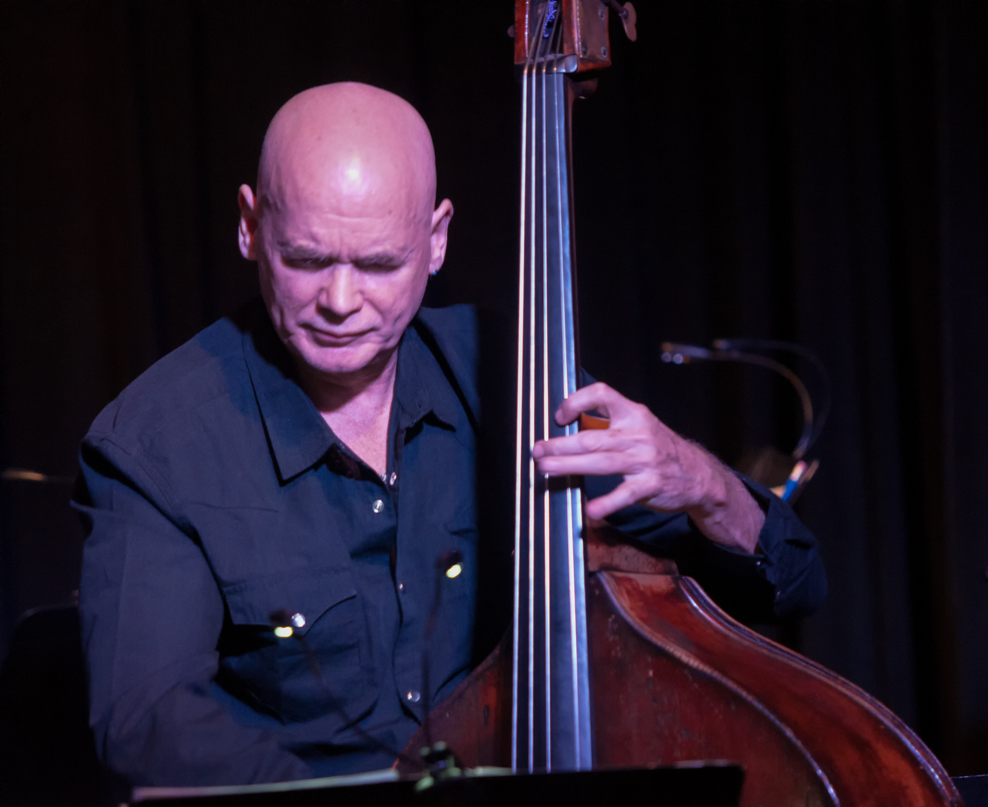 Mark Helias with the Ralph Alessi Quartet at the Nash