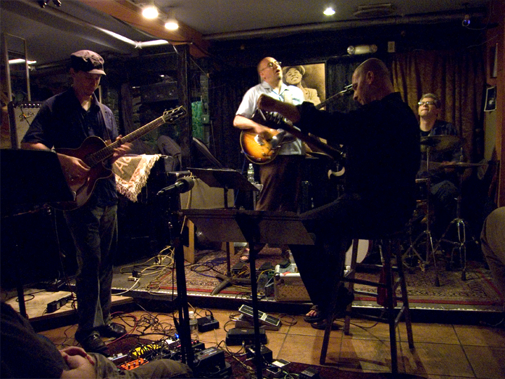 Kurt Rosenwinkel with Tronzo, Jay Granelli, and Matt Wilson - Small's 2008