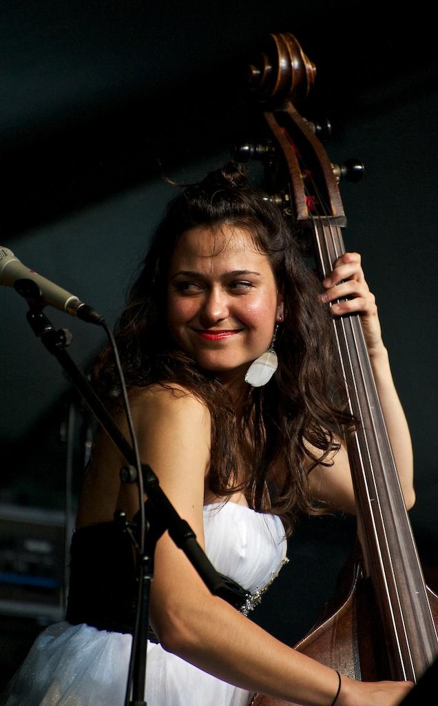Brandi Disterheft at the Toronto Jazz Festival 2010