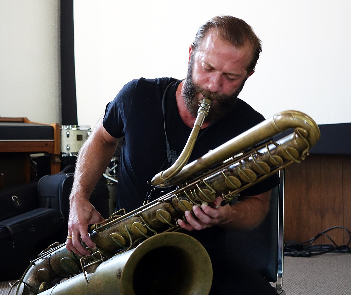 Colin Stetson at Guelph Jazz Festival 2015