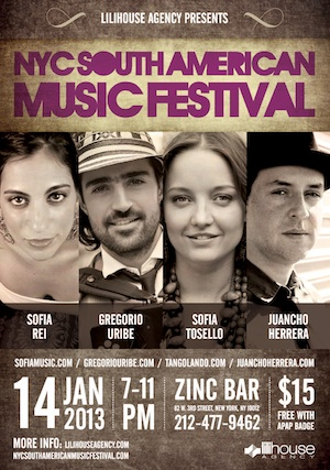 NYC South American Music Festival