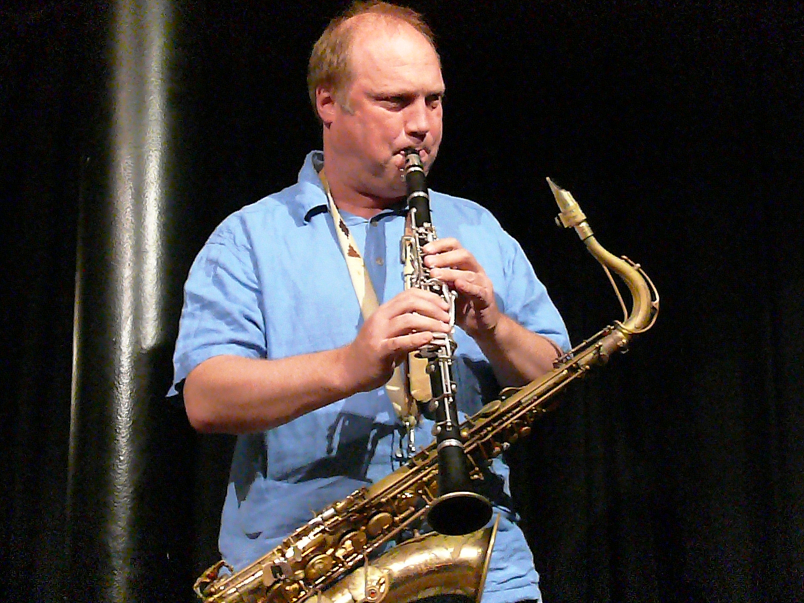 Tobias delius at the vortex, london in september 2013