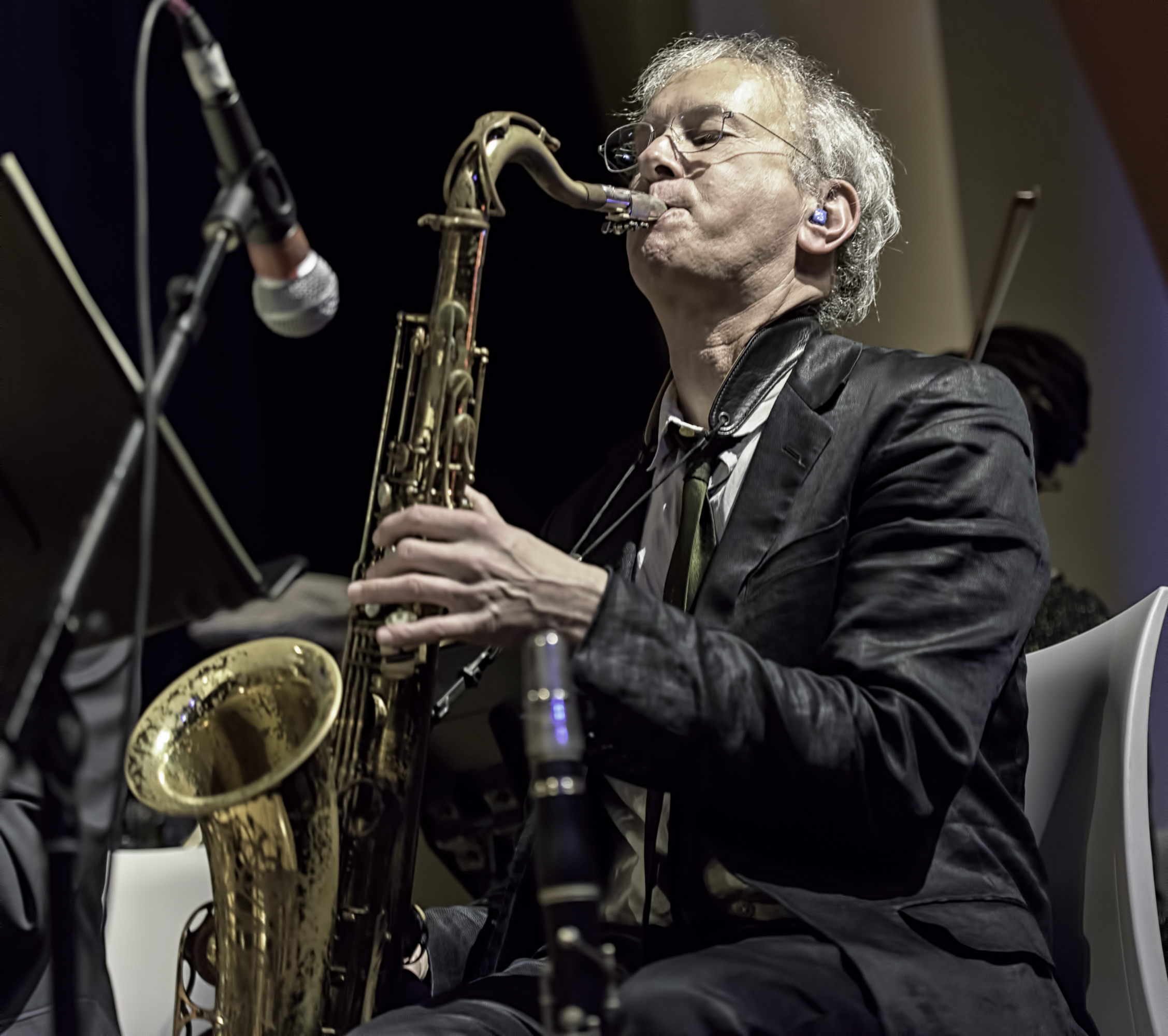 Doug Wieselman with Butler, Bernstein and the Hot 9 at the NYC Winter Jazzfest 2016