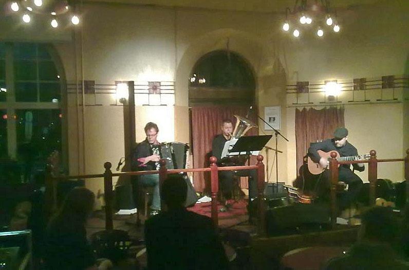 Pipoka Trio with Sam Huber, Helsinki, Finland, December 7, 2011