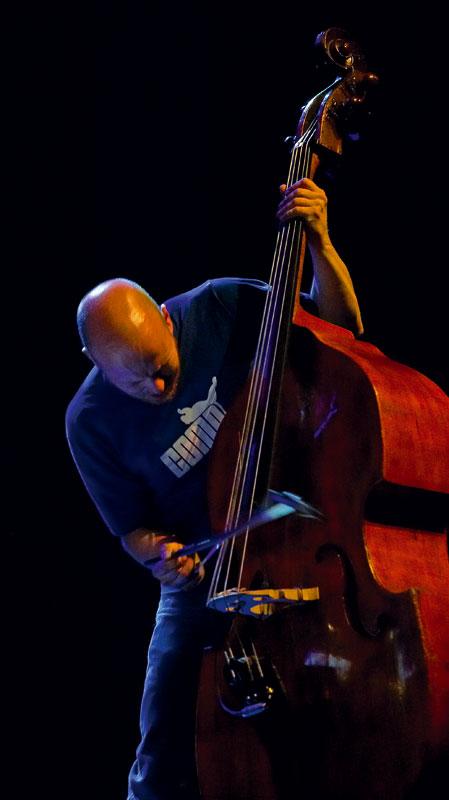 Ingebriht Hker Flaten, Double Bass, Cankarjev Jazz 2006 - Ljubljana, Slovenia