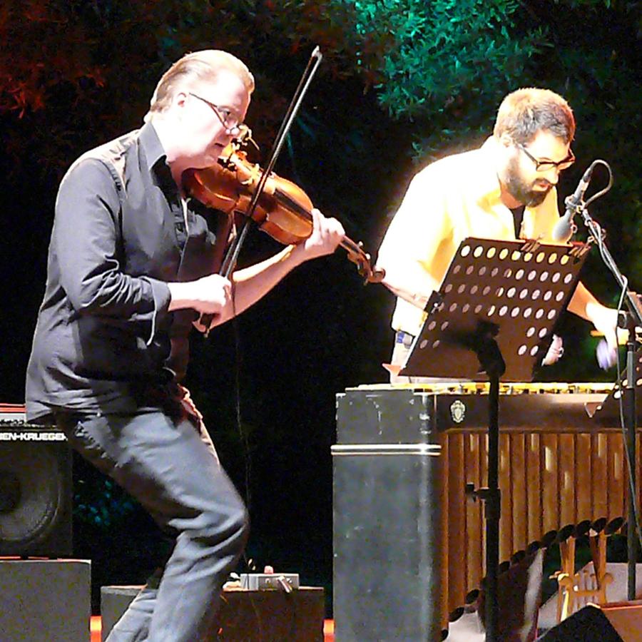 Ola Kvernberg and Jason Adasiewicz at Jazz Em Agosto Lisbon