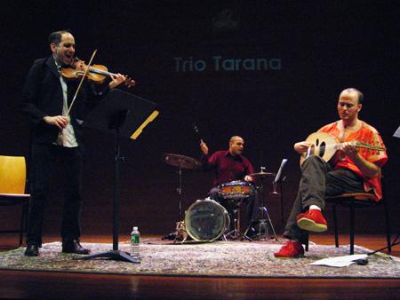 Ravish Momin's Trio Tarana with Sam Bardfeld and Brandon Terzic - Rubin Museum of Art 2007