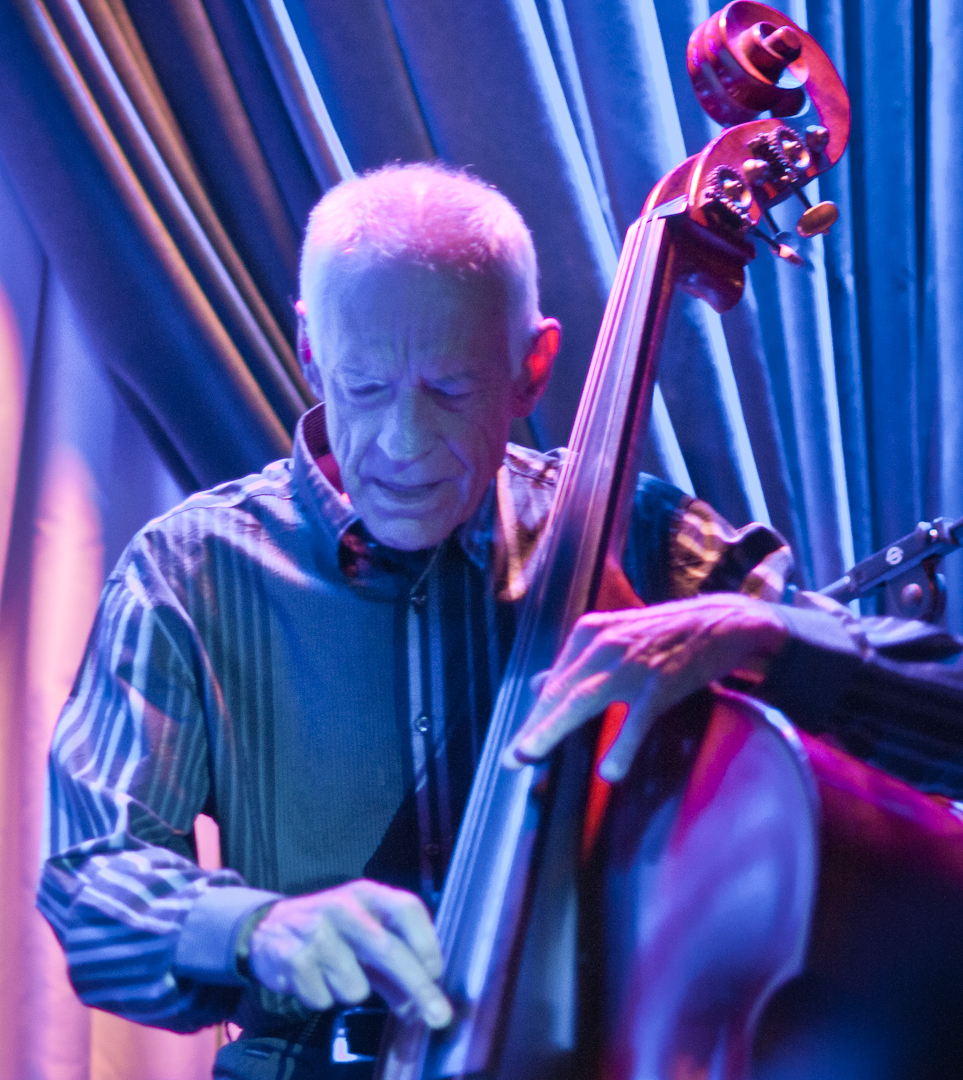 Gary Peacock with Brian Blade and Chick Corea at the Blue Note