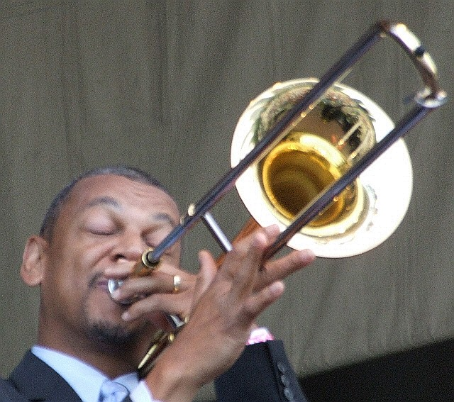 2006 Chicago Jazz Festival, Friday: Lucien Barbarin with Dr. Michael White's Original Liberty Jazz Band