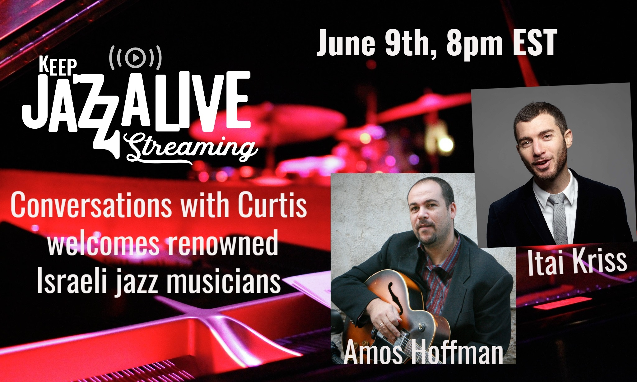 Keep Jazz A-live-streaming:  Conversations With Curtis Welcomes Nicholas Payton