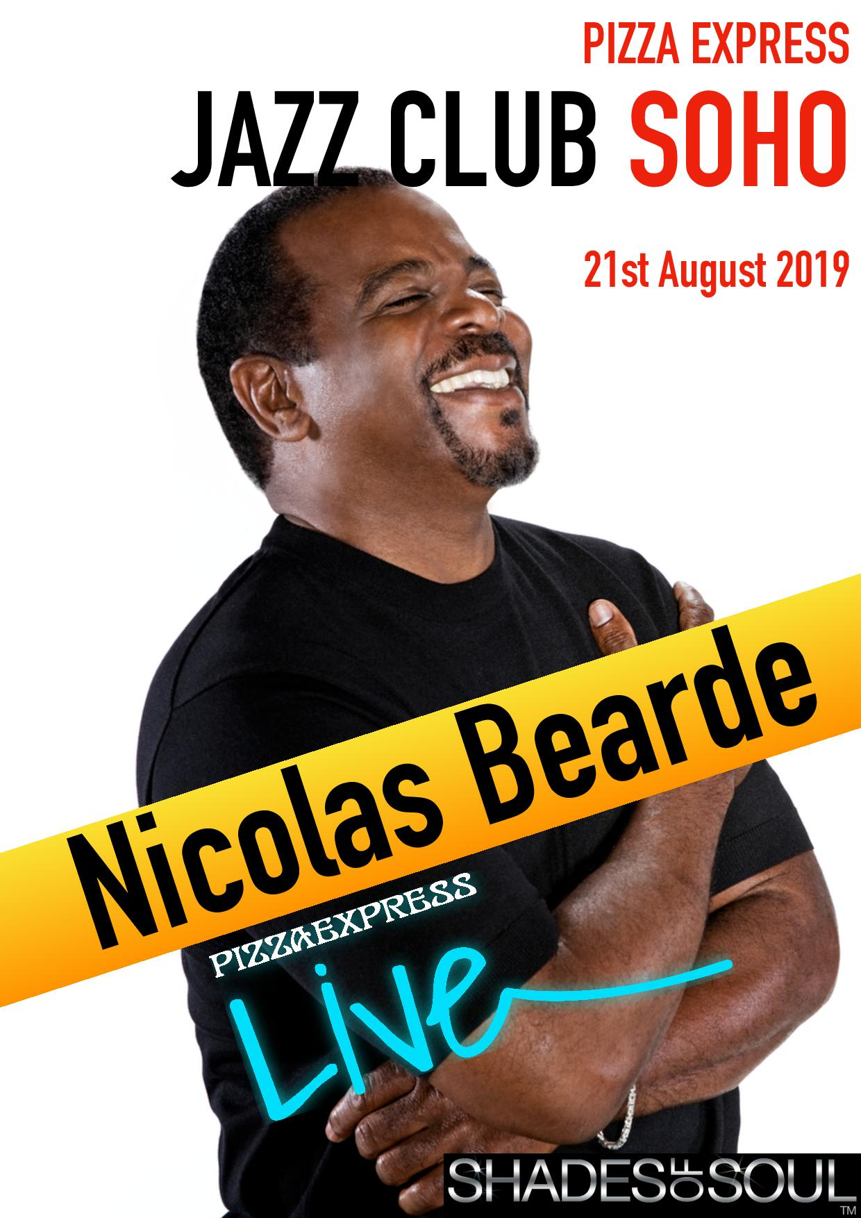 Nicolas Bearde with the Rob Barron Trio