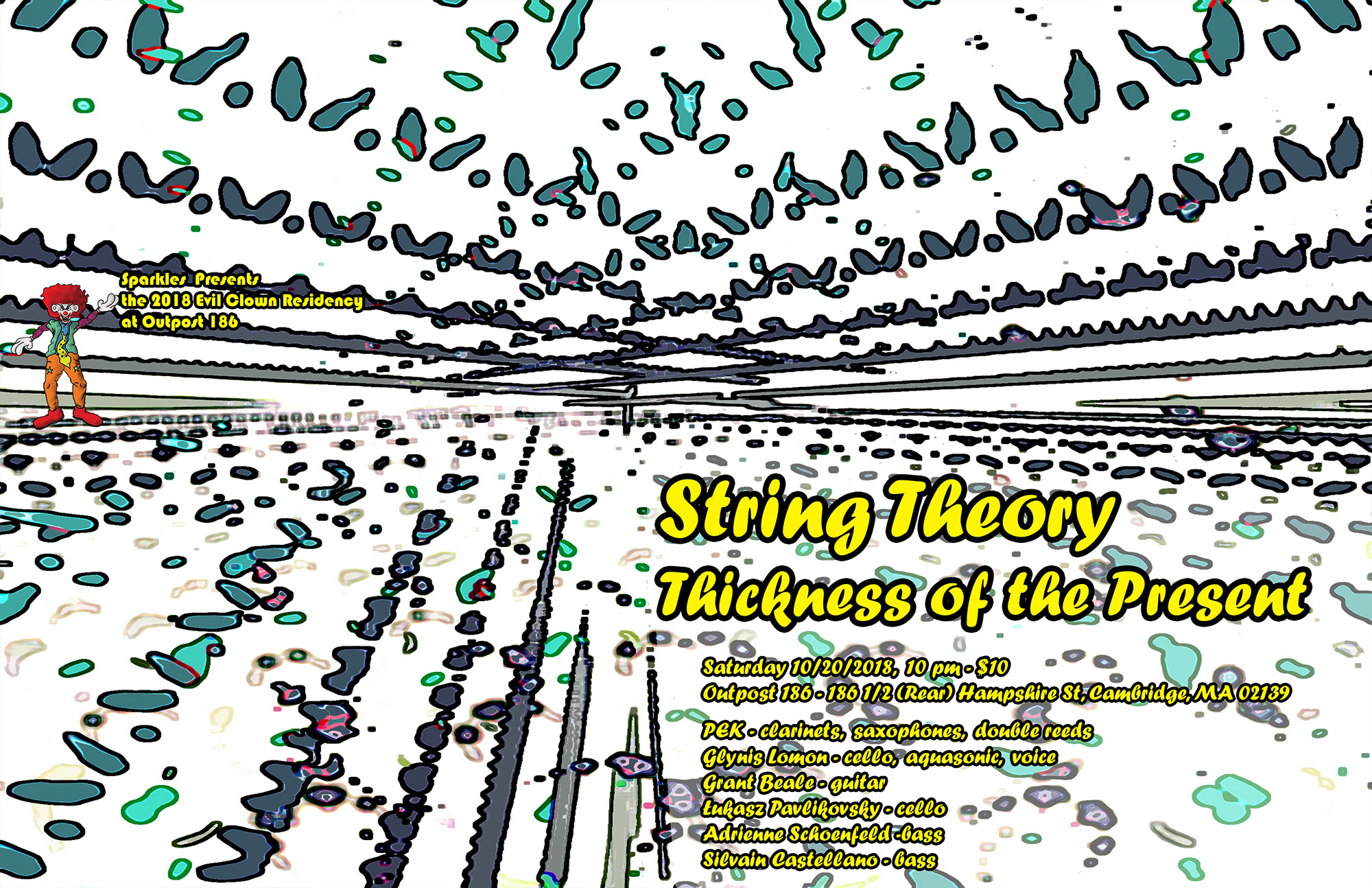 String Theory - Thickness Of The Present