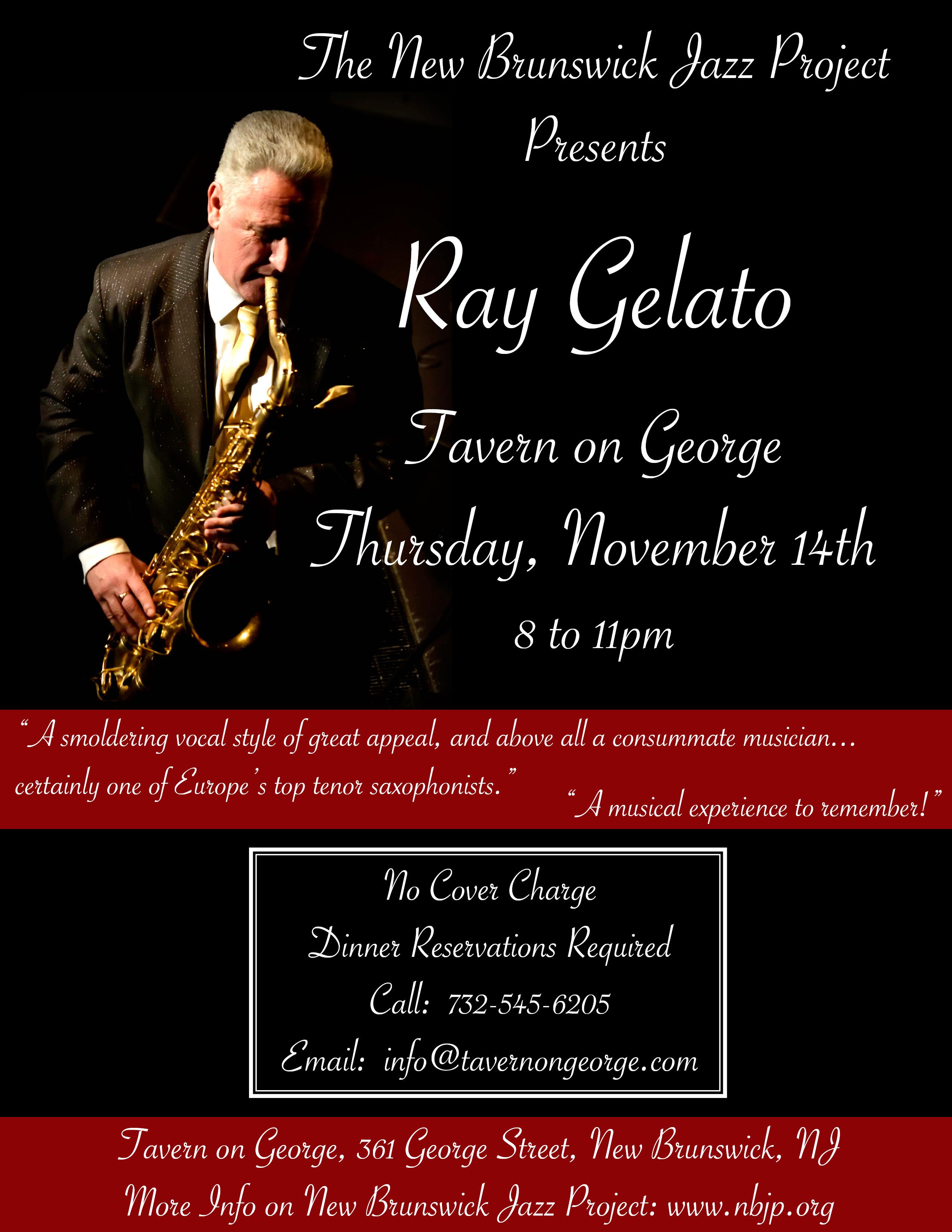 Ray Gelato With The City Rhythm Orchestra