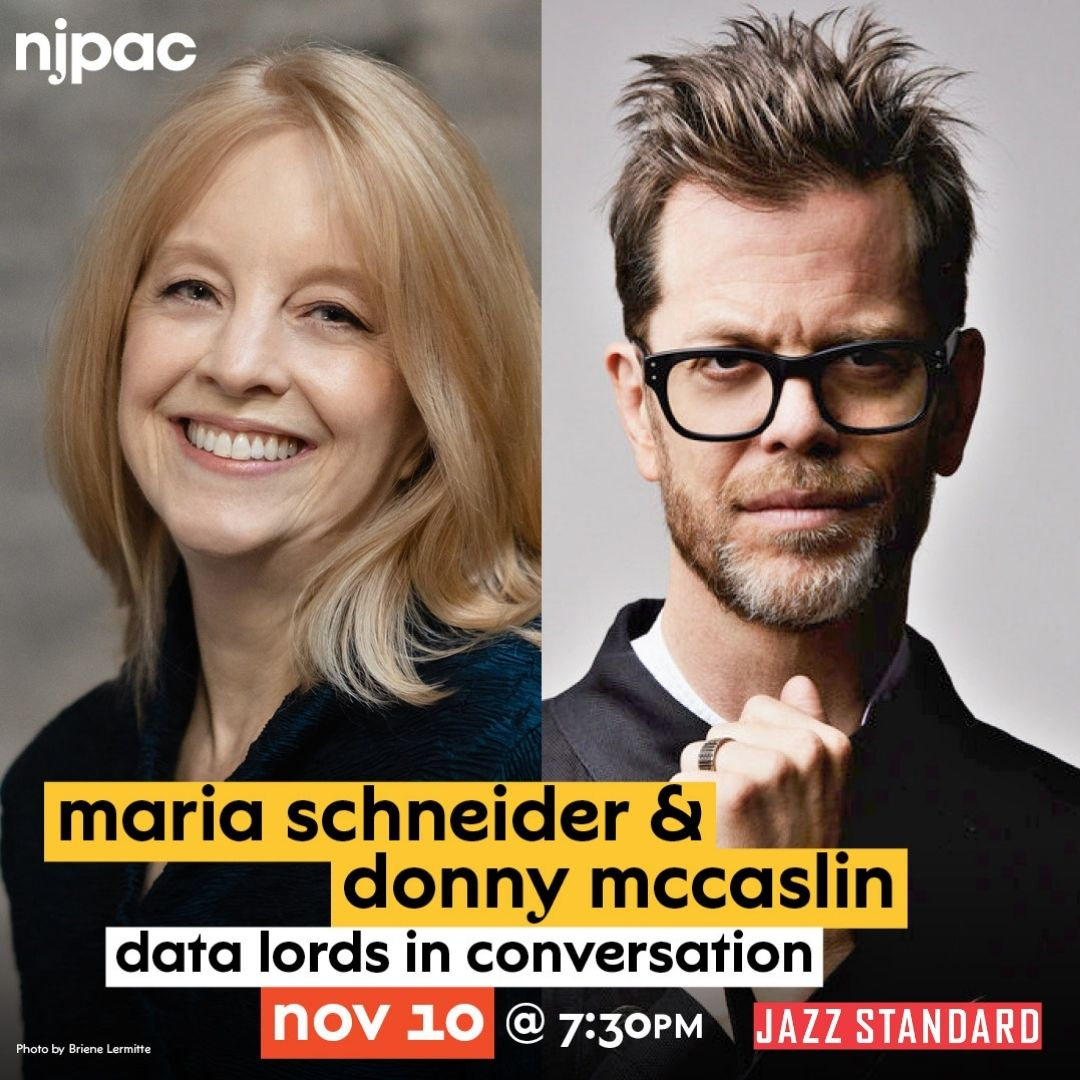 Jazz Standard Presents Data Lords: Maria Schneider And Donny Mccaslin In Converastion