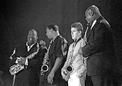 Charlie Parker Legacy (Jesse Davis, Vincent Herring, Francesco Cafiso, Wess Anderson) / Vitoria 2005