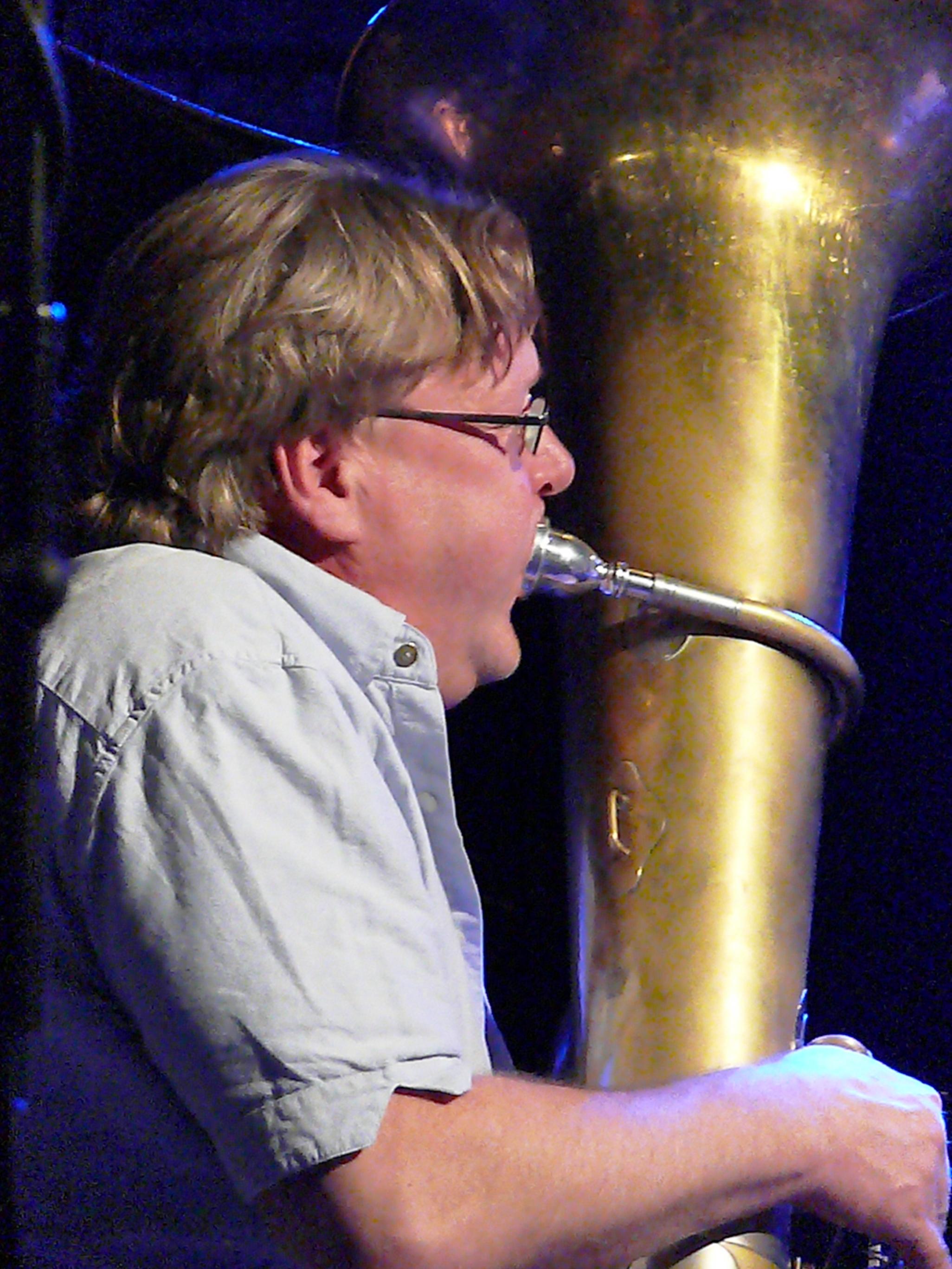 Per Ake Holmlander at Alchemia, Krakow in November 2012