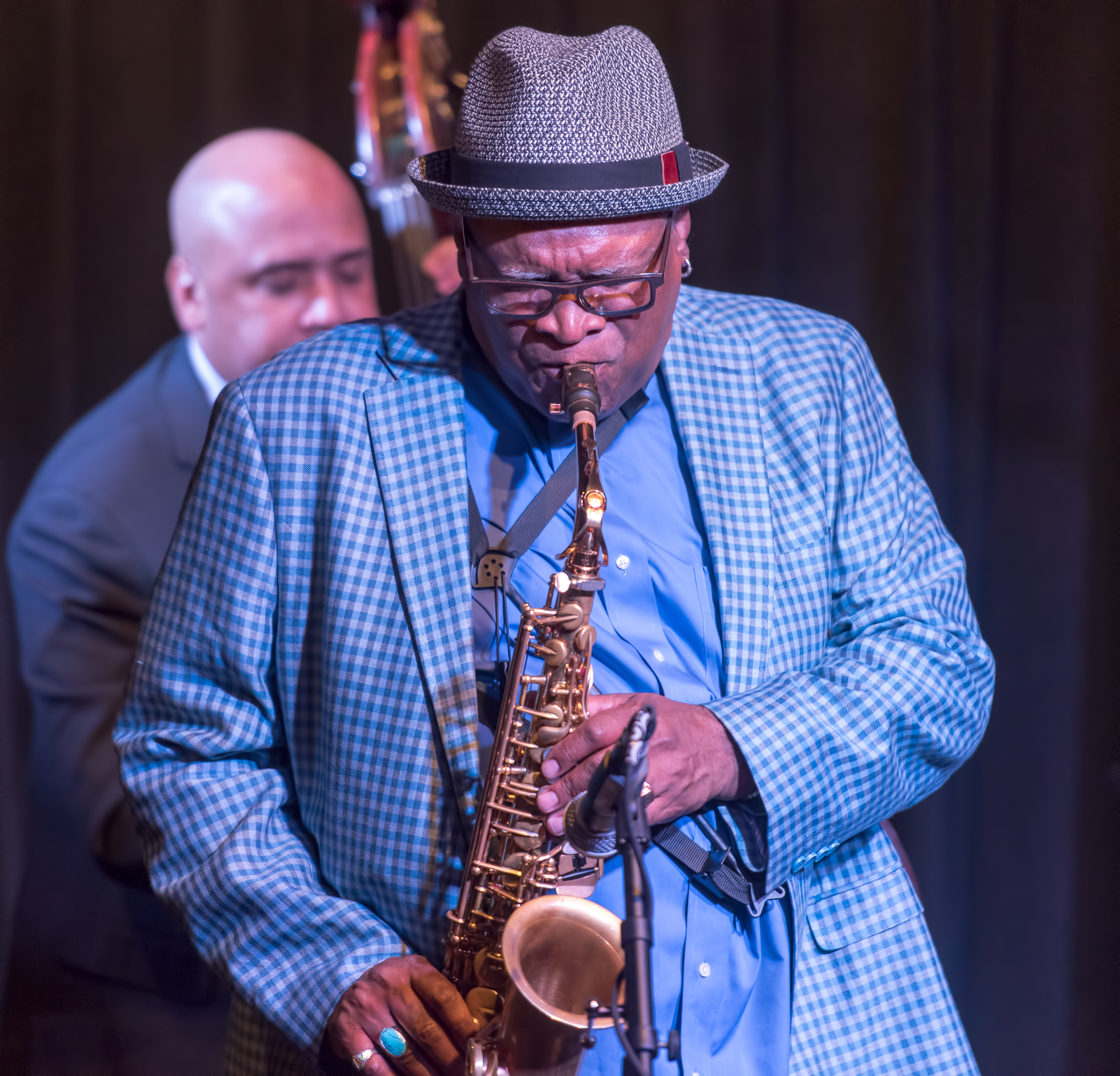 Bobby Watson And Peter Washington In The Jazz Message: Celebrating The Legacy Of Art Blakey And The Jazz Messengers At The Nash In Phoenix