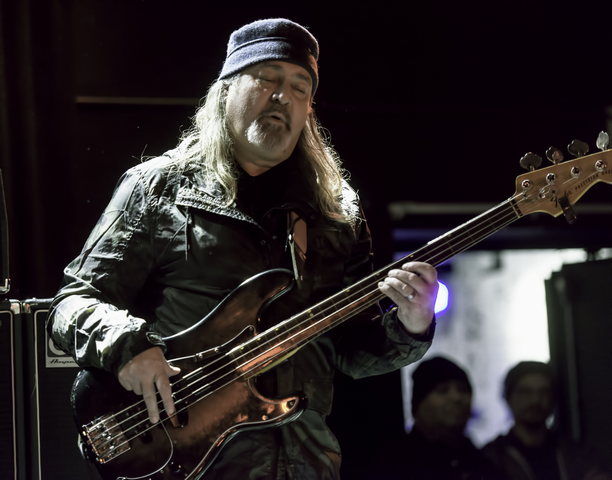 Bill Laswell with Colin Stetson At The NYC Winter Jazzfest 2016