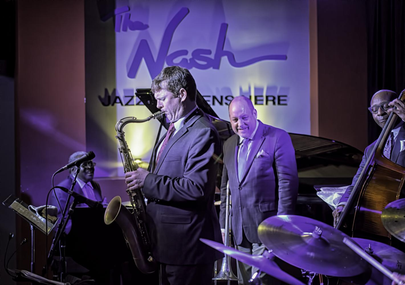 Larry Willis, Eric Alexander, Steve Davis And Nat Reeves The Lewis Nash Big Apple Quintet At The Nash In Phoenix