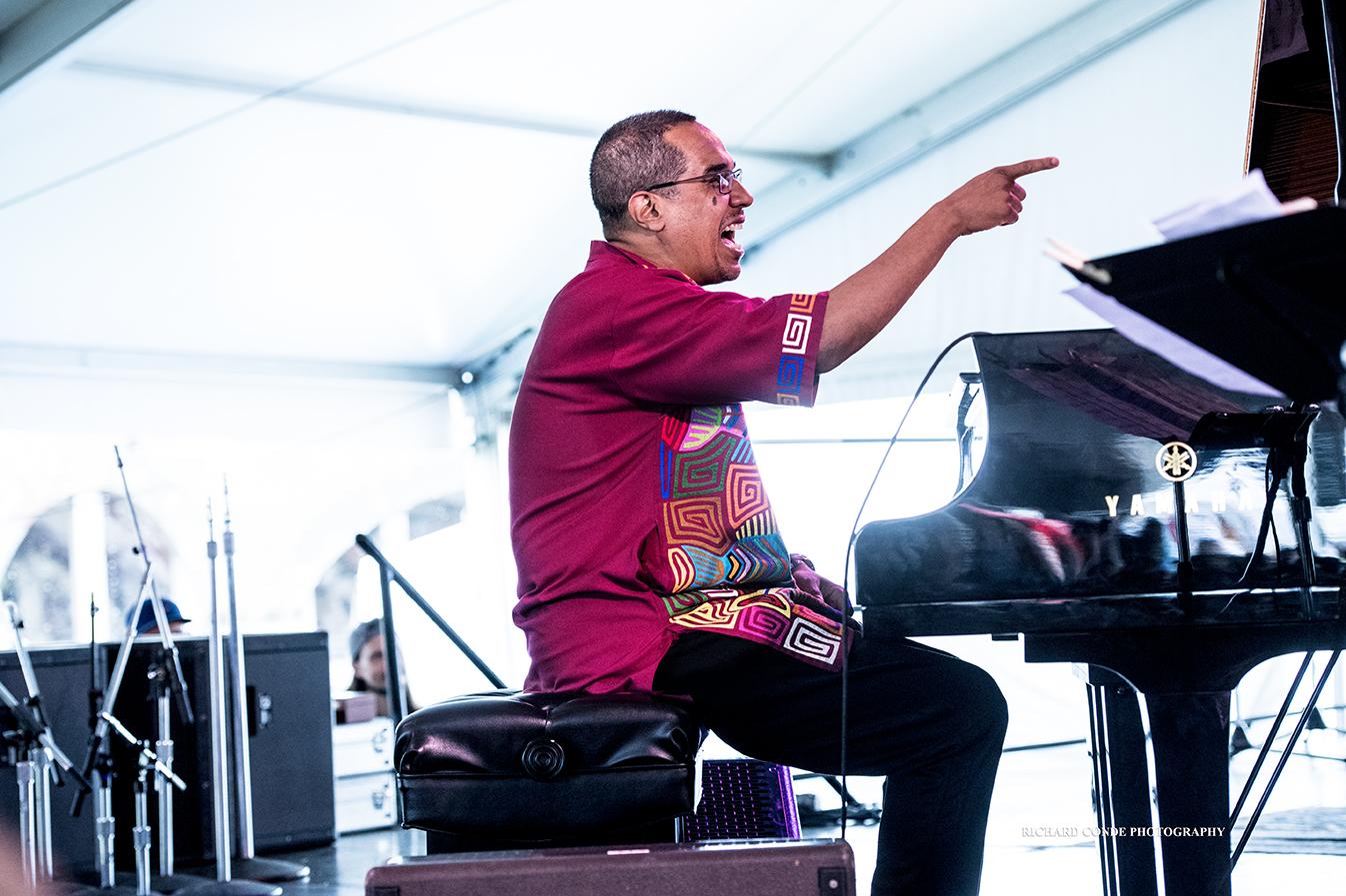 Danilo Perez at the 2017 Newport Jazz Festival