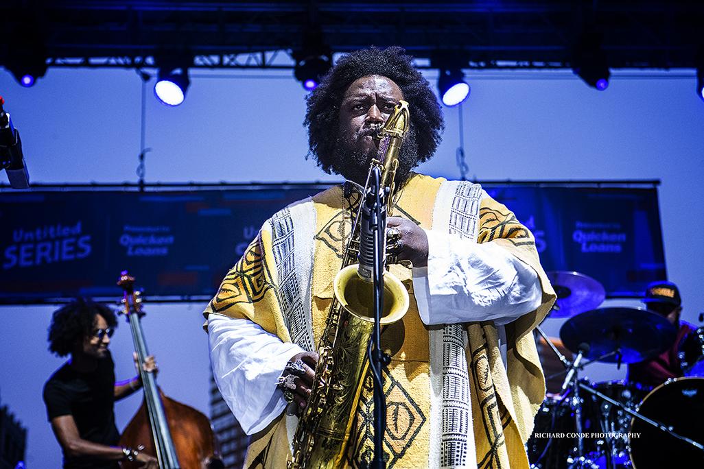 Kamasi Washington at the 2017 Detroit Jazz Festival