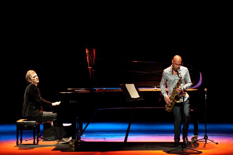Brad Mehldau - Joshua Redman Live at the 43rd Barcelona Voll-Damm Jazz Festival.