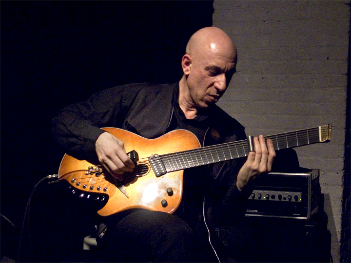 Elliott Sharp with Saul Koll &Quot;Guitarbass&Quot; - The Stone 2008