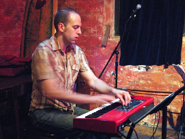 Jesse Stacken with Peter Van Huffel Quartet - Tea Lounge 2006