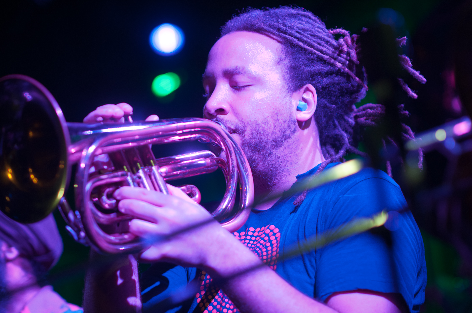 Miwi la Lupa with Red Baraat at Winter Jazzfest 2012