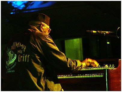 Jimmy McGriff at Organ Summit, Toronto 2004