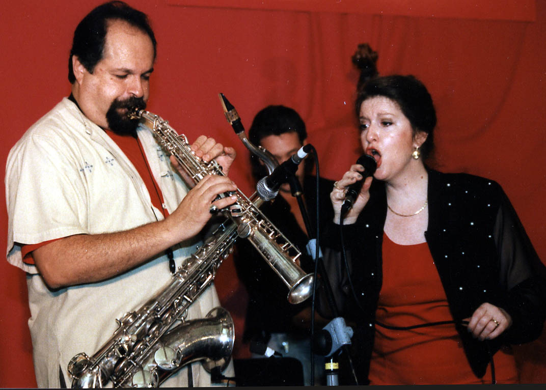 Joe Lovano and Judi Silvano, Guinness Cork Jazz Festival, Oct 1996