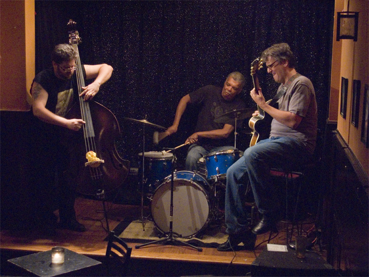 Billy Stein Trio with Charles Downs and Reuben Radding - Jimmy's 43 2007