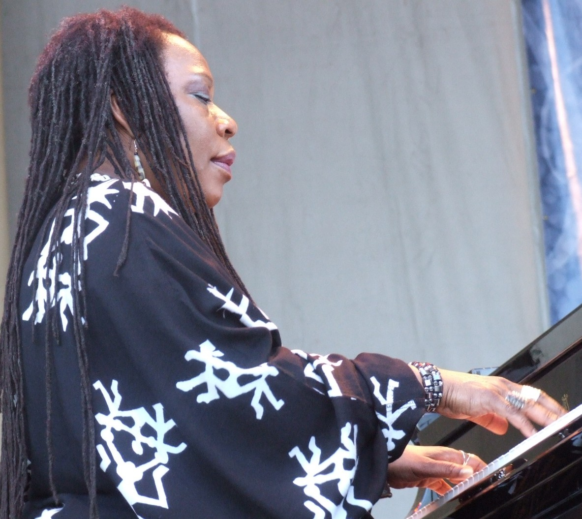 2008 Chicago Jazz Festival, Friday: Amina Claudine Myers in a Small-Group Aacm Tribute Set
