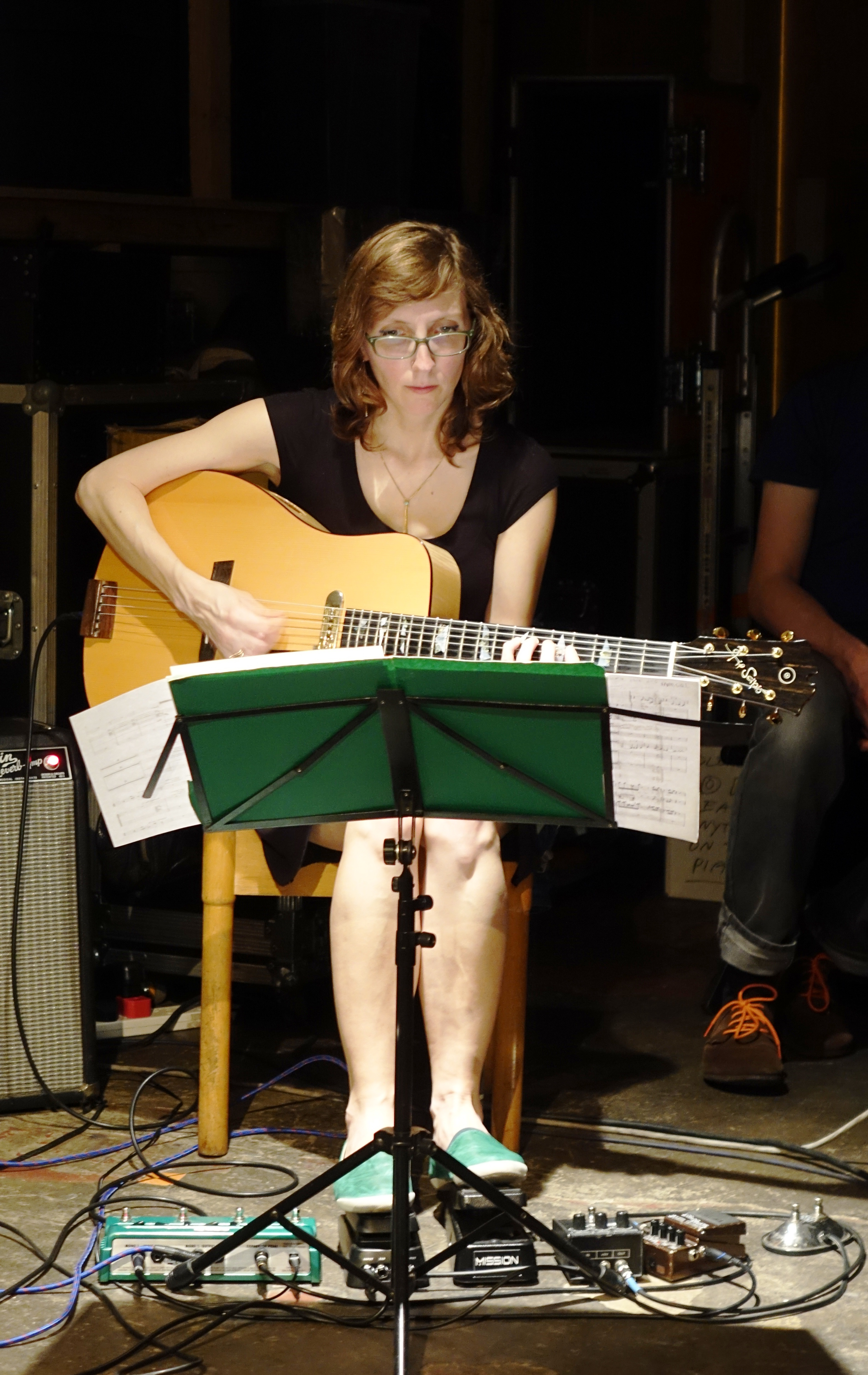 Mary Halvorson at Cafe Oto, London in May 2018