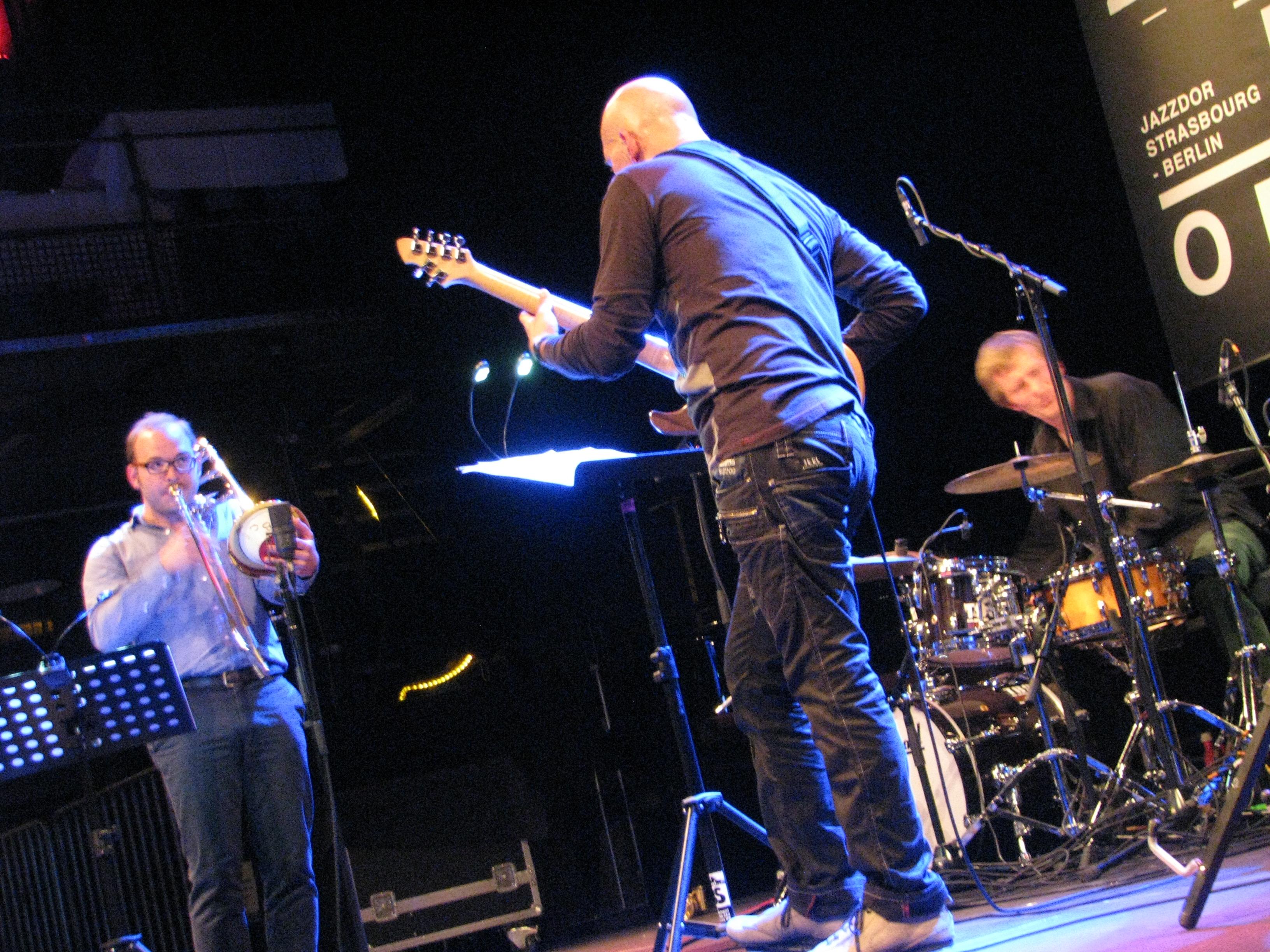 Samuel blaser marc ducret peter bruun, jazzdor berlin 2013