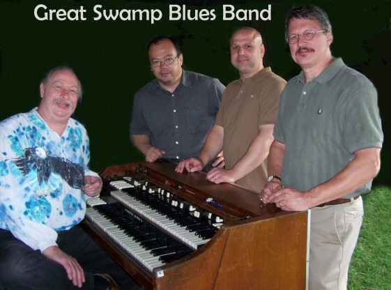 Cover for Great Swamp Blues Band CD