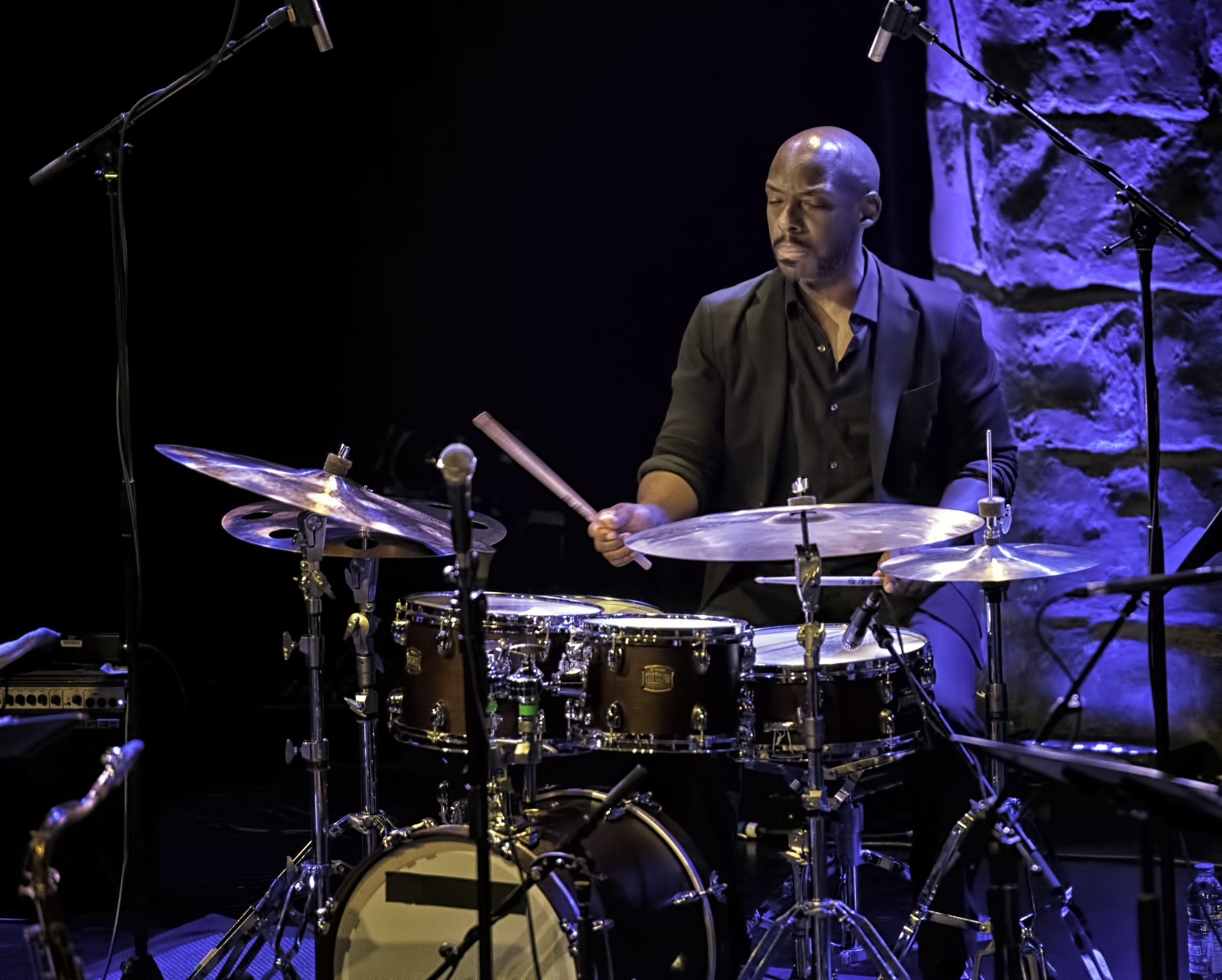 E.J. Strickland with Ravi Coltrane and the Void at The Montreal International Jazz Festival 2017