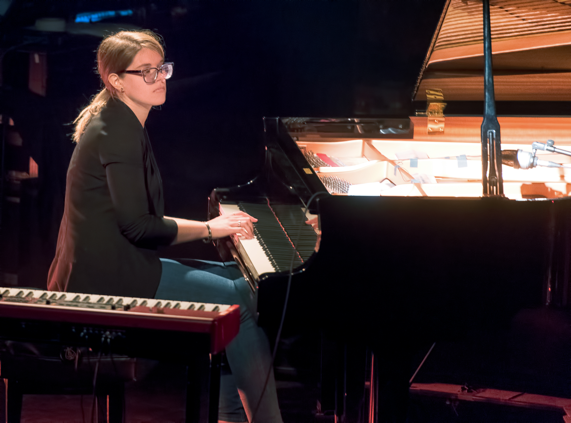 Emie Rioux-Roussel with Trio at The Montreal International Jazz Festival 2018