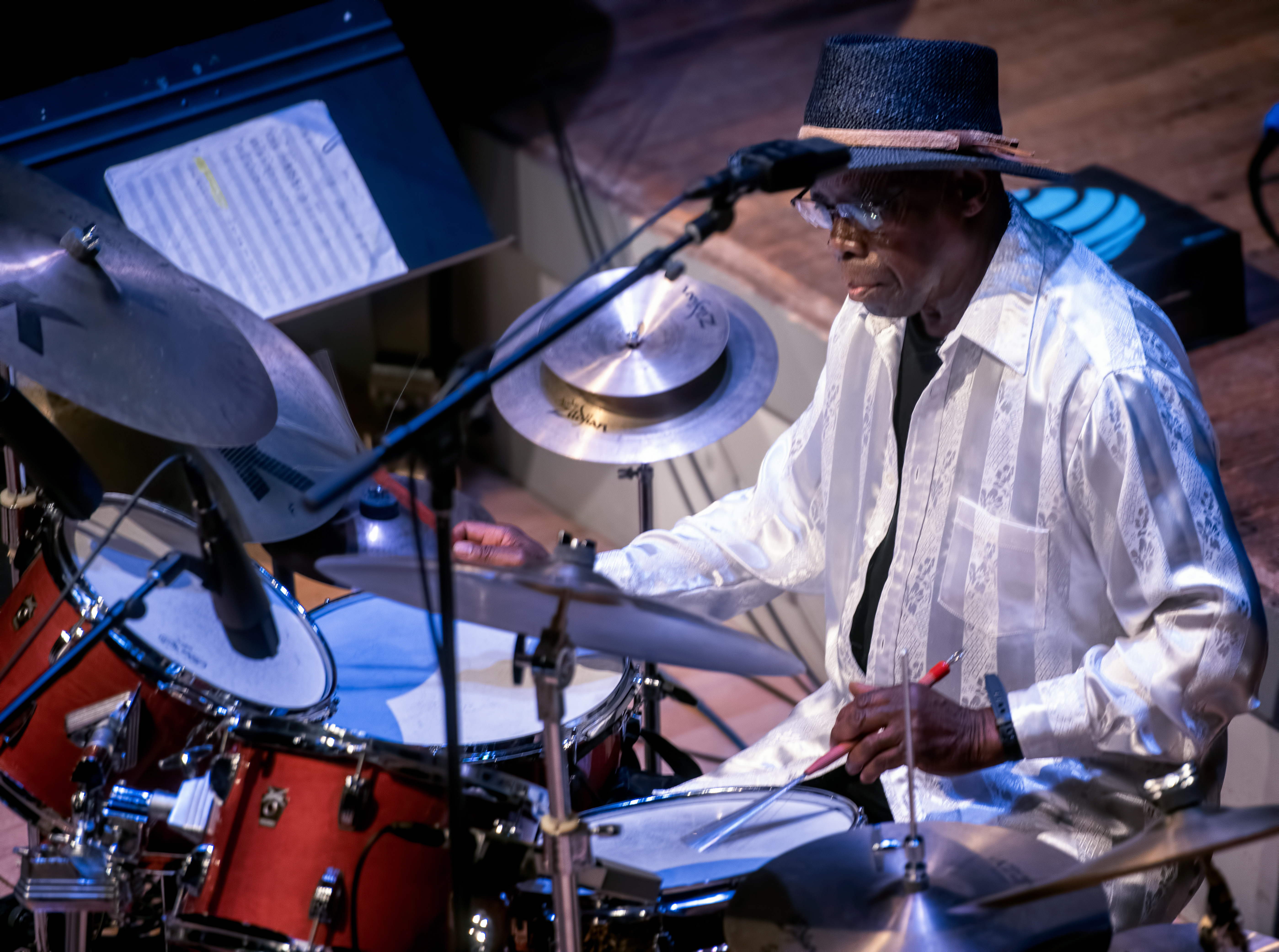 Andrew Cyrille and Lebroba At the Vision Festival 2019