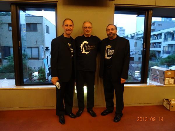 Joe, pat and john la barbera