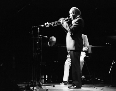 Roy Eldridge 0324823 Jvc-Capital Jazz Royal Festival Hall London July 1985 Images of Jazz