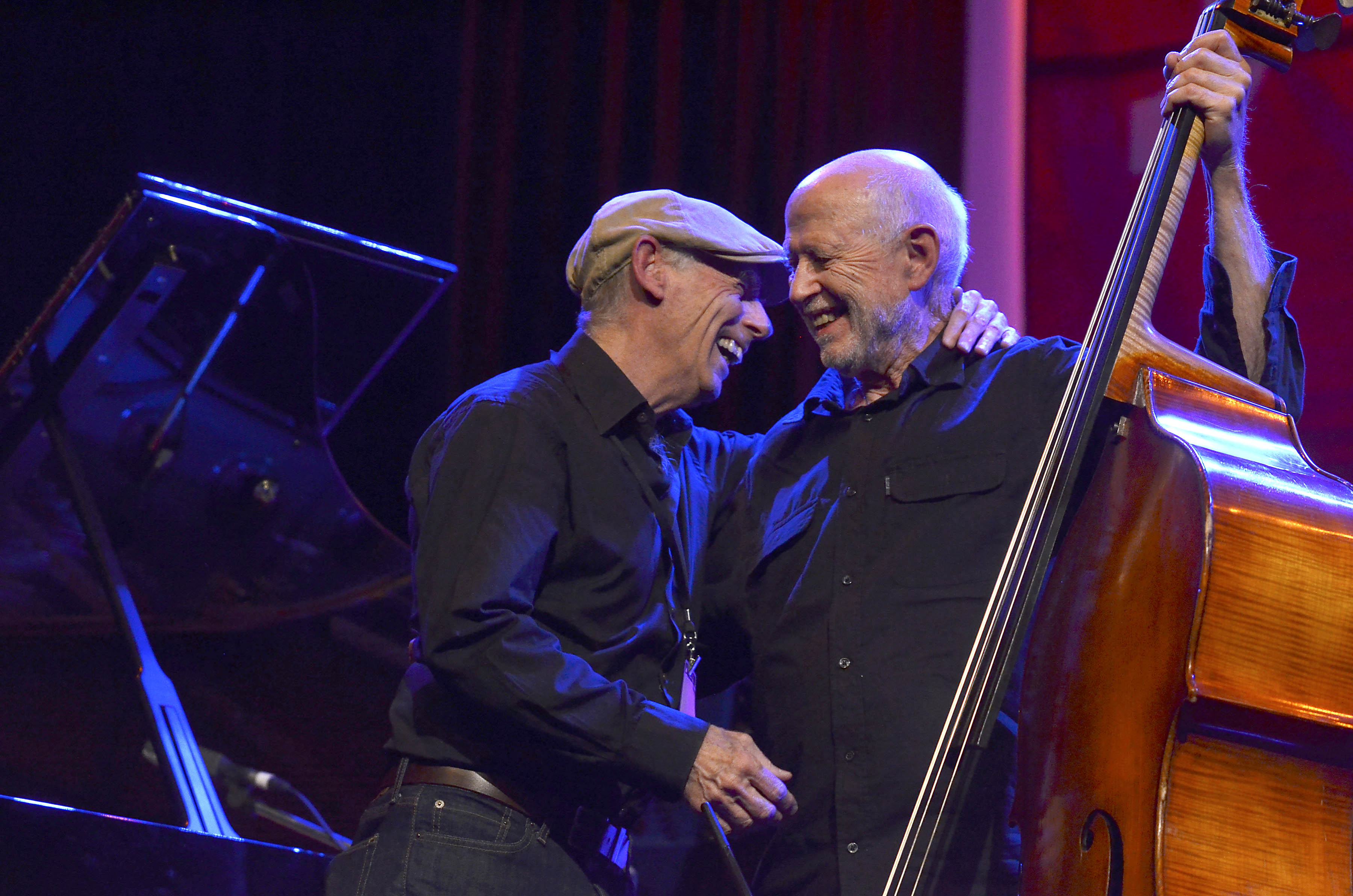 Mike Nock and Barre Phillips