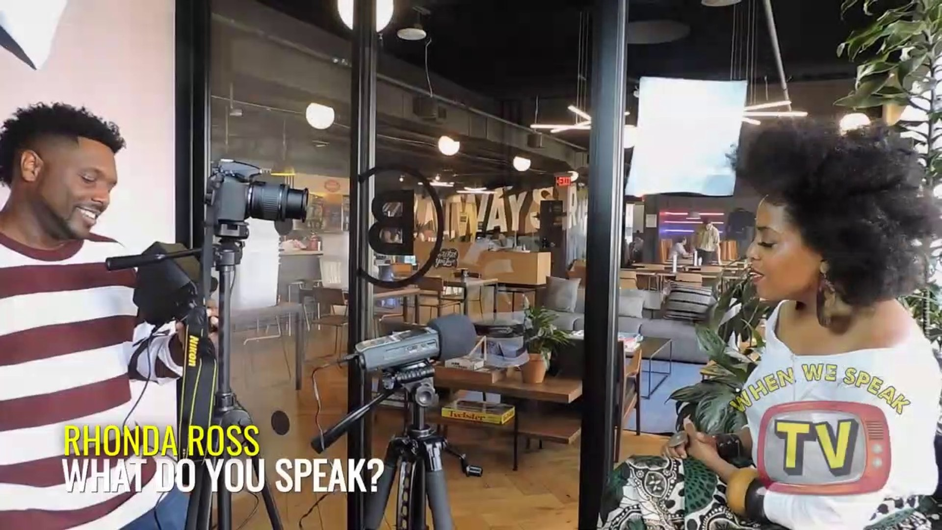 Rhonda Ross Speaks with Jermaine Sain of When We Speak TV