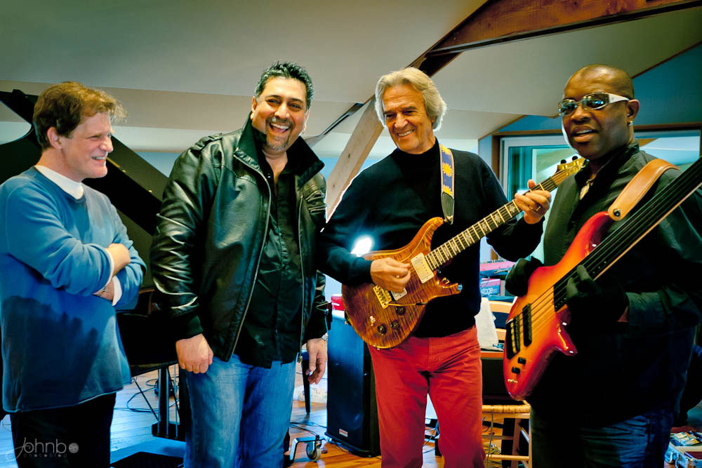 Gary husband with john mclaughlin 4th dimension