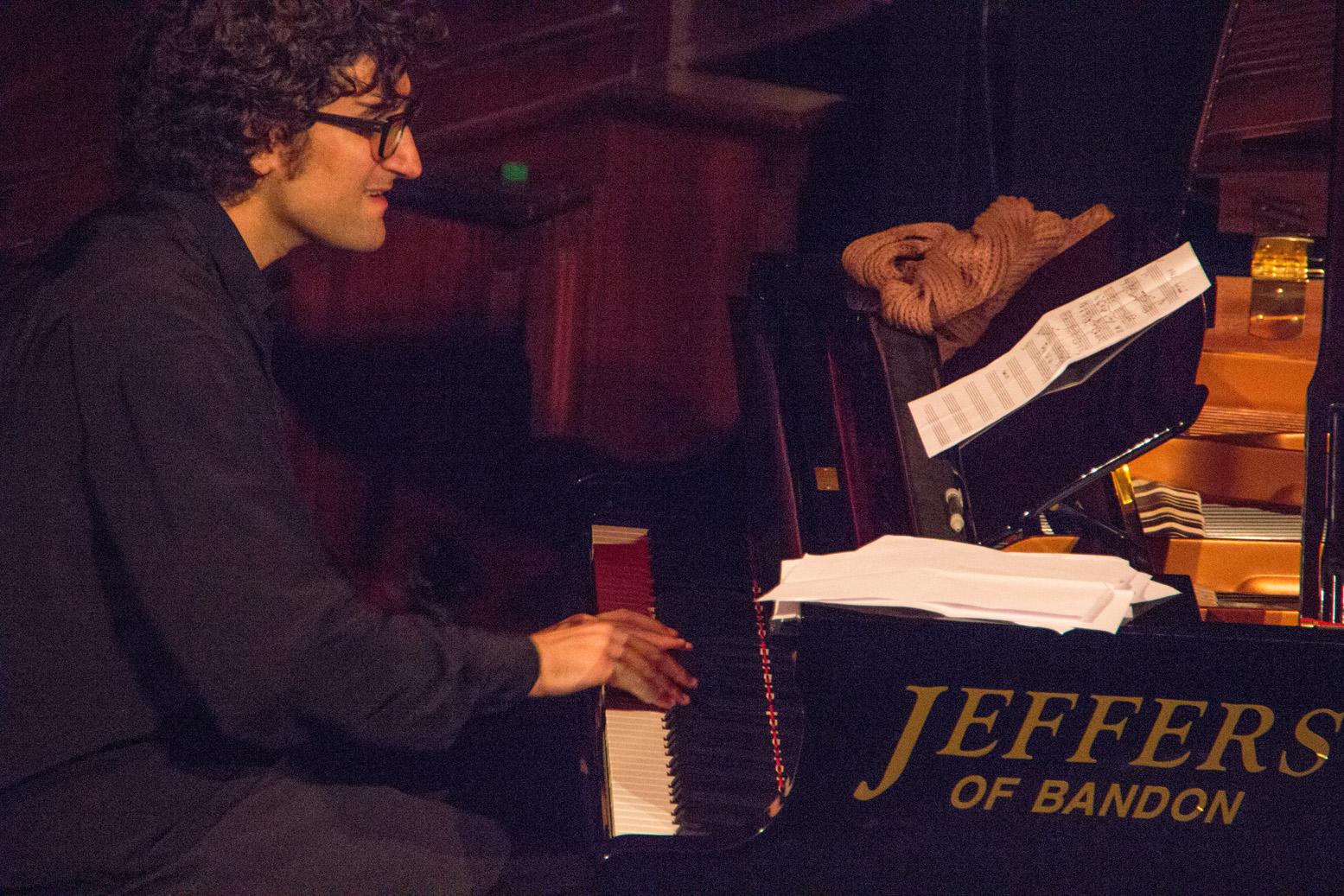 Albert sanz at cork jazz festival