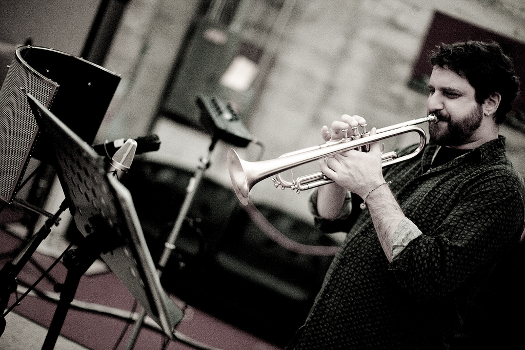 Jason Parker Quartet in the Studio