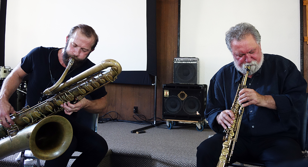 Colin Stetson & Evan Parker at Guelph Jazz Festival 2015