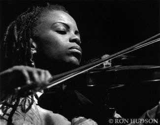 Regina Carter at the Monterey Jazz Festival in 1999
