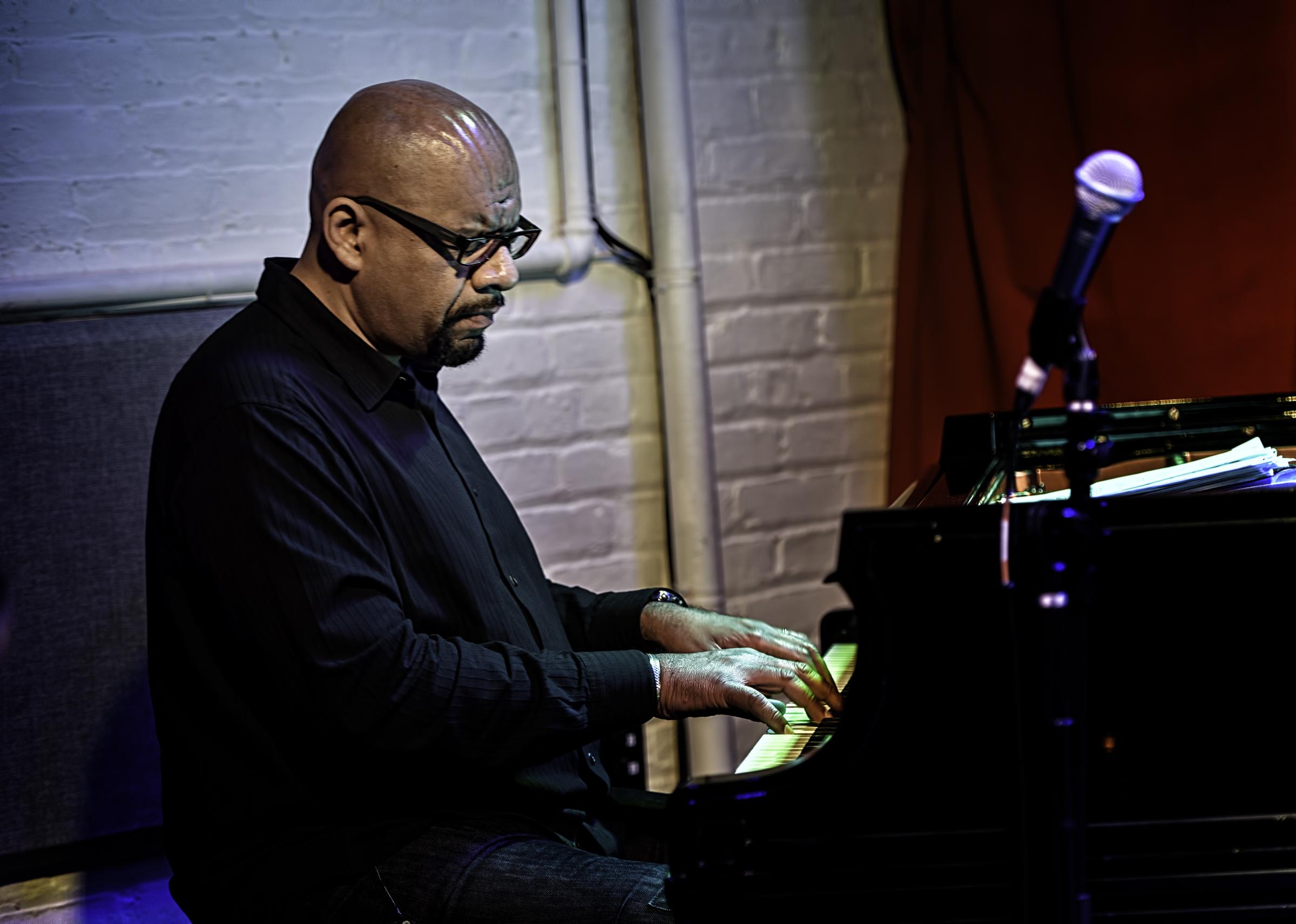 Luis Perdomo with the Miguel Zenon Quartet at Club Bonafide in NYC