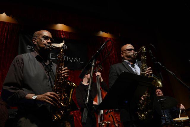 Sonny Fortune & Azar Lawrence @PDX Jazz Fest/Jimmy Mak's